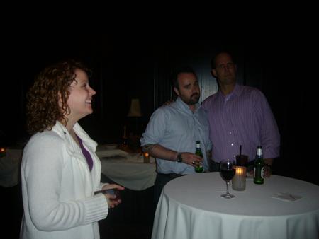 Sarah Morgan (@sarahmorgan), Dan Licht (@thedvl), and Michael Myers (@Palio_Saratoga)