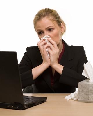 Sick at Computer