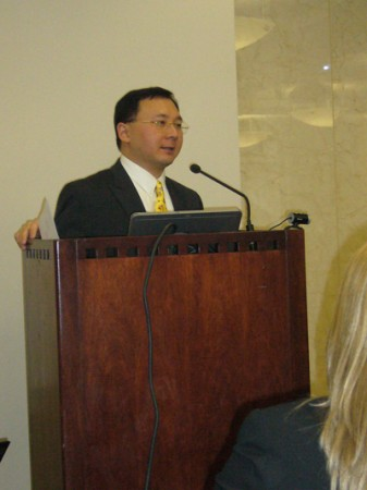 Panel Moderator Augustine Fou