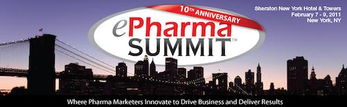 ePharma Summit Banner