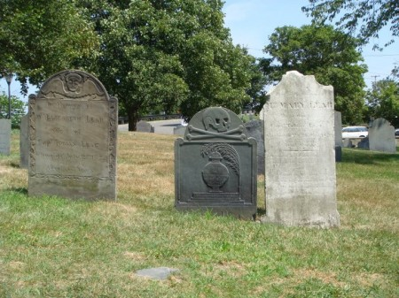 Headstones from the 1770s