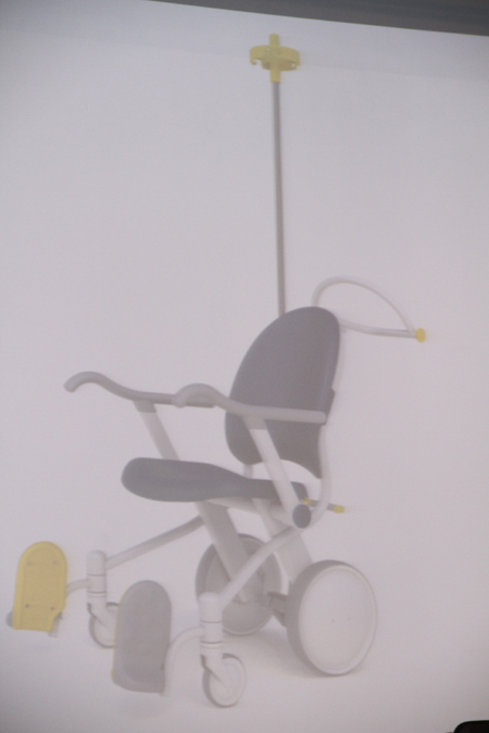Transport chair for improved patient comfort
