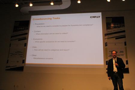 Tom Cherniak talks about the Sunshine Act