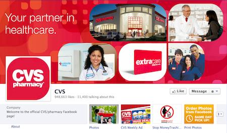 CVS facebook